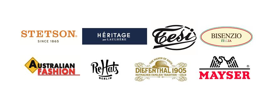 logos van merken te koop bij House of Hats